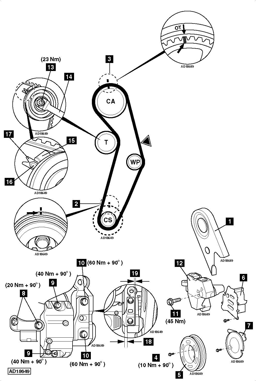 How-to-Replace-timing-belt-on-Audi-A3-1.6-2005-2012