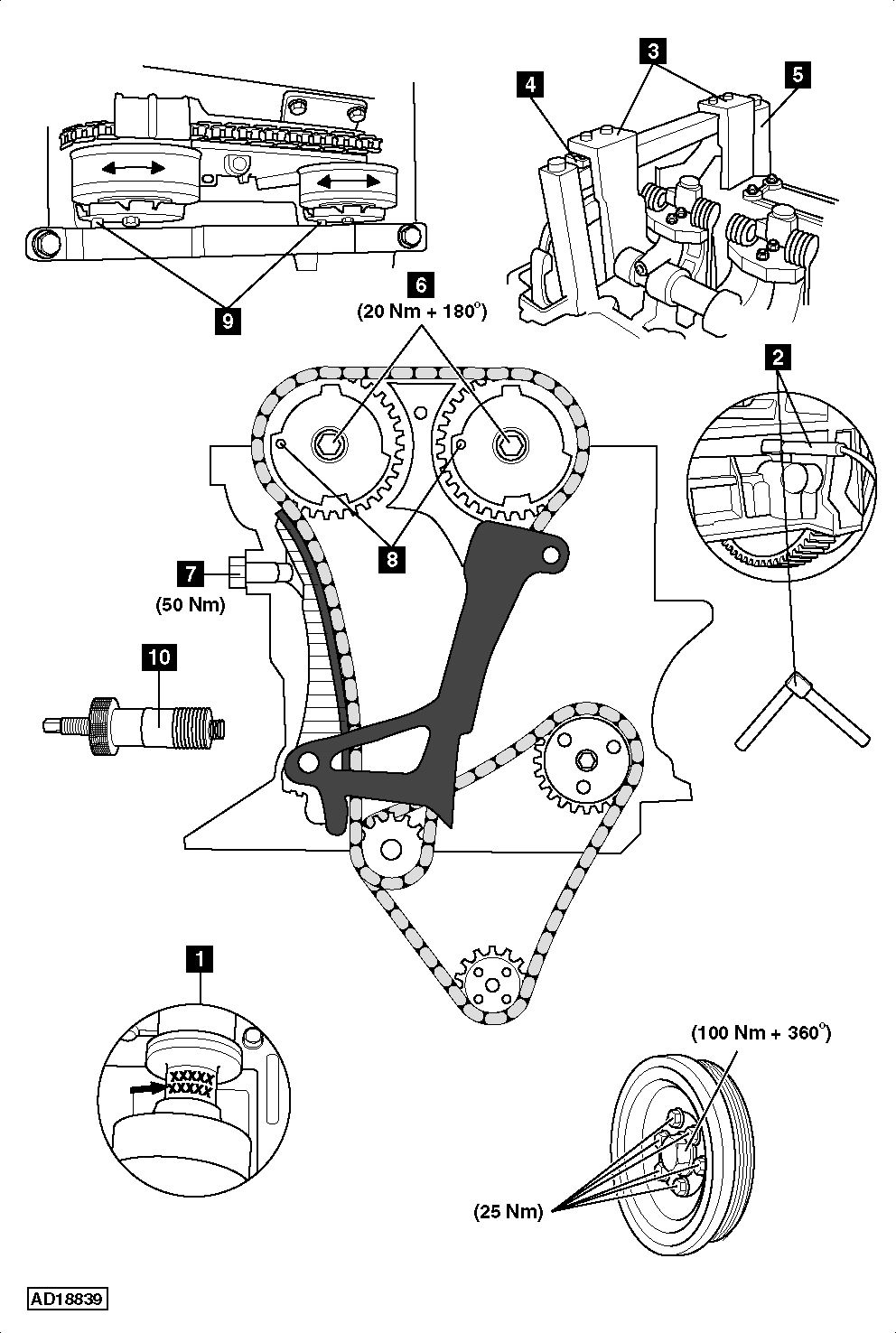 How-to-Replace-timing-chain-on-BMW-325i-E90-91-92-2005-2007