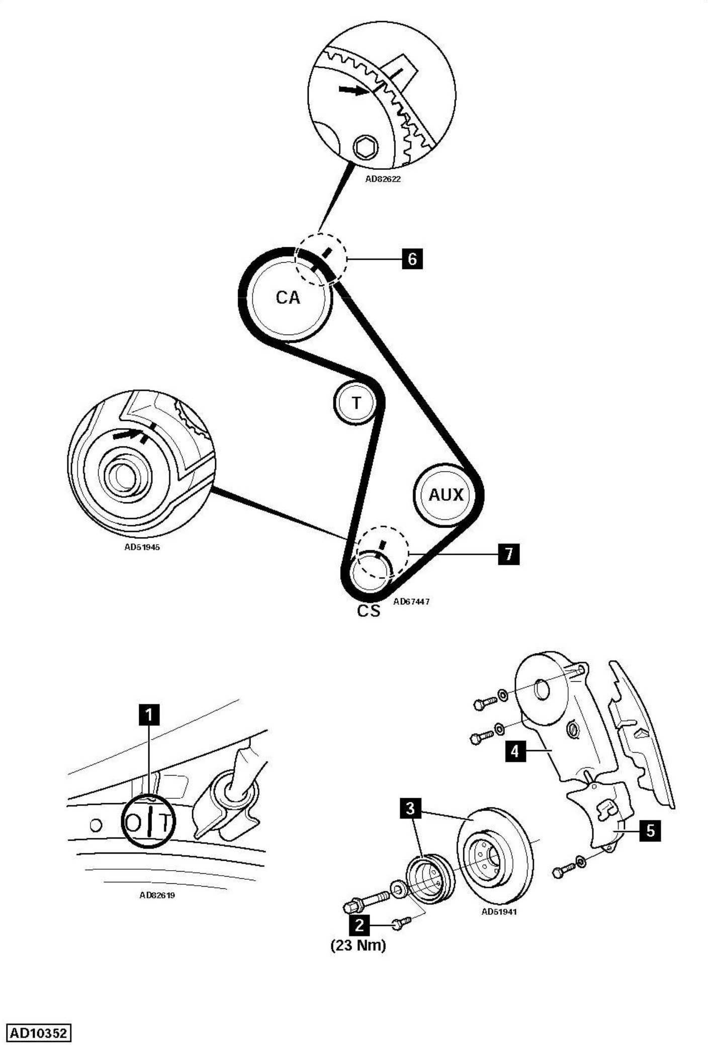 Replace-timing-chain-on-BMW-Z1-E30-2-5-1993