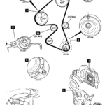 How-to-Replace-timing-belt-on-Citroen-C1-1.4-HDi-B0