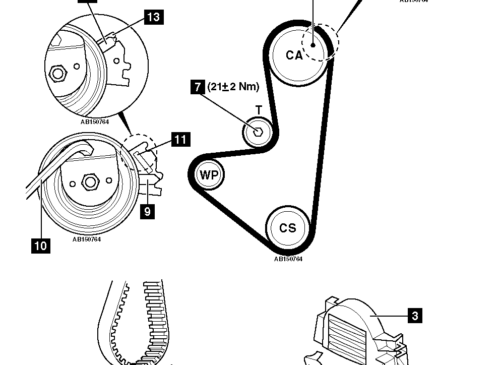 How-to-Replace-timing-belt-on-Citroen-C3-1.1-2009-